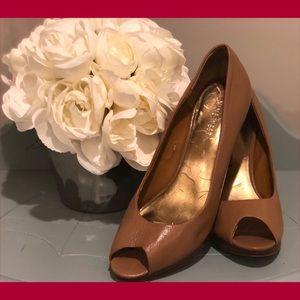 """Nine West """"TRISTANO"""" Leather Platform Heels"""